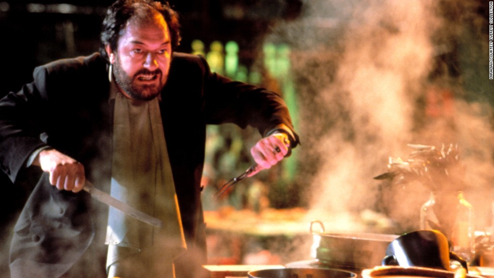 """<strong>""""The Cook, The Thief, His Wife & Her Lover"""" (1989):</strong>   Michael Gambon plays the thief in this crime drama about a gangster who takes over a French restaurant."""