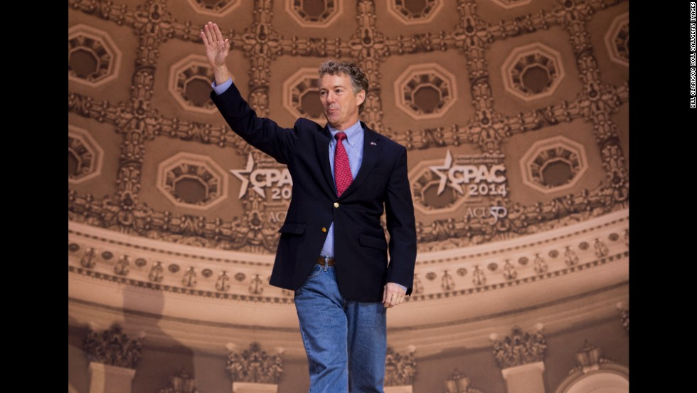 "Kentucky Sen. Rand Paul used his remarks Friday to launch a familiar critique of the National Security Agency's surveillance programs. ""If you have a cell phone, you are under surveillance,"" he said. ""I believe what you do on your cell phone is none of their damn business."""