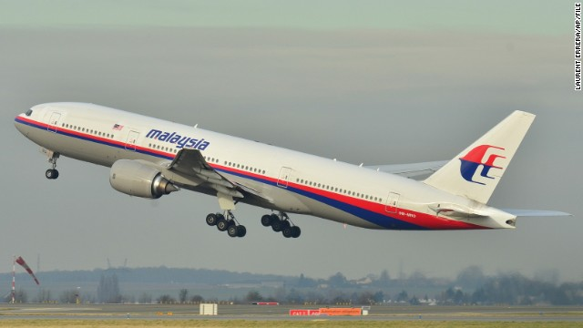 This image taken on December 26, 2011 shows the Malaysia Airlines Boeing 777-200ER that has gone missing.