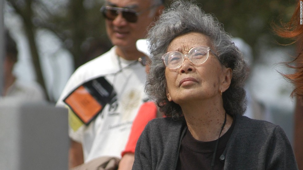 "American activist Yuri Kochiyama was interned during World War II. She later helped push for passage of the Civil Liberties Act, which compensated Japanese-Americans<a href=""http://www.npr.org/blogs/codeswitch/2013/08/09/210138278/japanese-internment-redress"" target=""_blank""> incarcerated in internment camps </a>during the war."