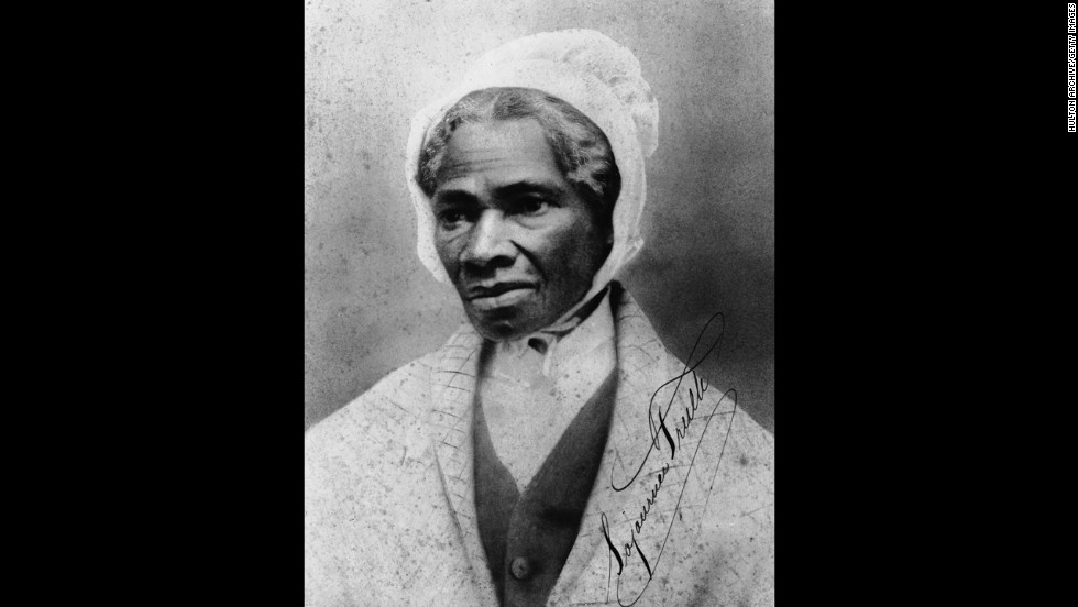"Orator and civil rights activist Sojourner Truth was born into slavery and could not read nor write, but her words have endured. Most famously, she declared ""<a href="" in 1851"" target=""_blank"">Ain't I a woman?</a>"" at a women's rights convention in Akron, Ohio, in 1851."