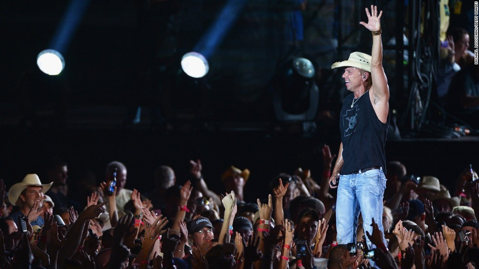 "Kenny Chesney made $44 million last year, thanks to a No. 1 album -- ""Life on a Rock"" -- and a tour. His new album, ""The Big Revival,"" is due out in September."