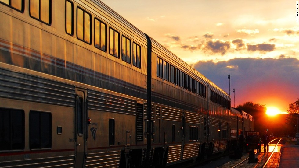 Amtrak officially rolls out writers' residency - CNN.com
