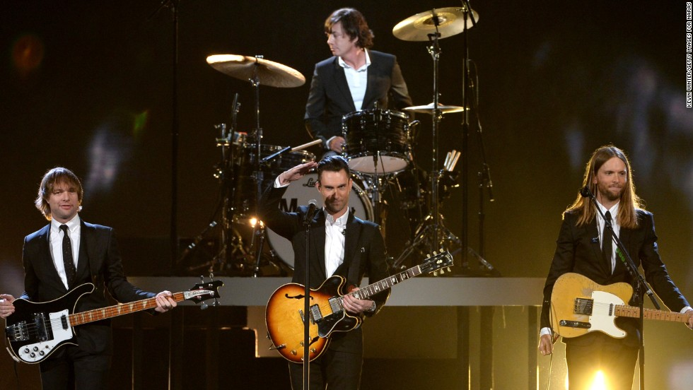 "Maroon 5 may have been helped by front man Adam Levine's gig as a judge on ""The Voice."" The band raked in $22,284,754.07 to place them in the No. 7 slot."