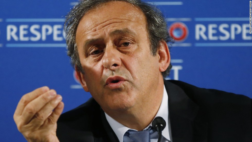 A published report claims UEFA president Michel Platini was gifted a Picasso painting in return for support for the Russia 2018 World Cup bid. Platini strenuously denies the allegation.