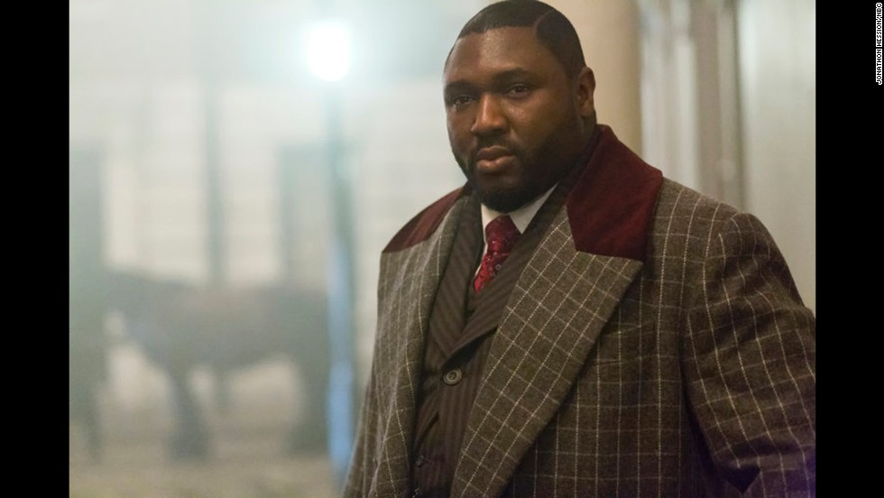 "In an audacious stroke of casting, British actor Nonso Anozie plays R.M. Renfield in NBC's ""Dracula"" television series. Anozie's steely performance has won him fans."