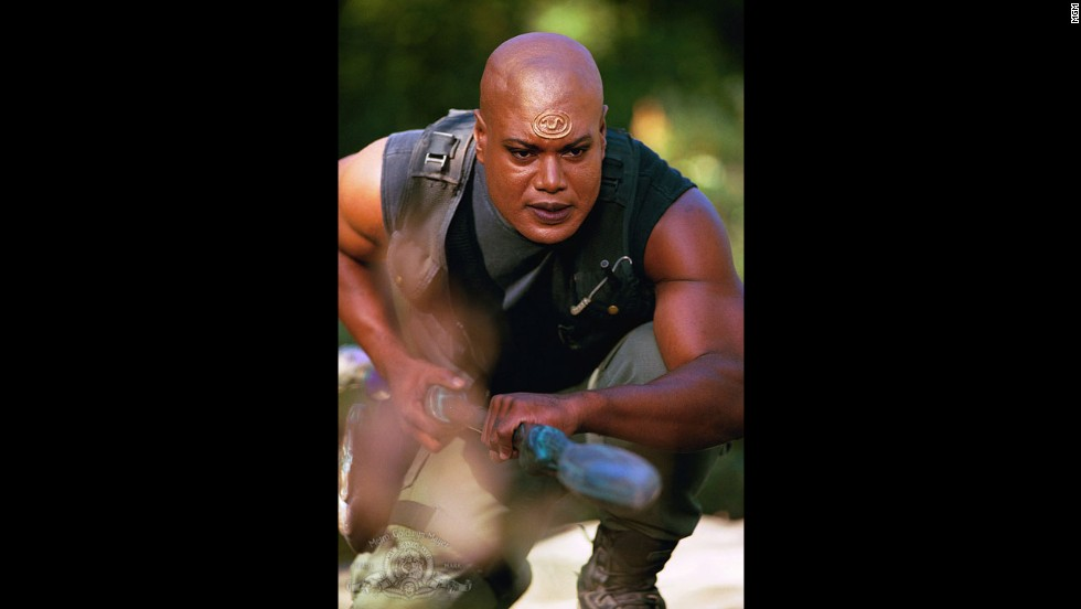 "Who says all the heroes have to be white guys? Christopher Judge played the warrior Teal'c in the sci-fi series ""Stargate SG-1."""
