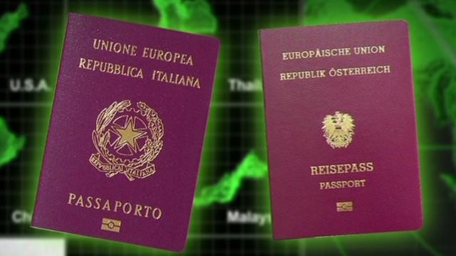 Iranian man linked to stolen passports