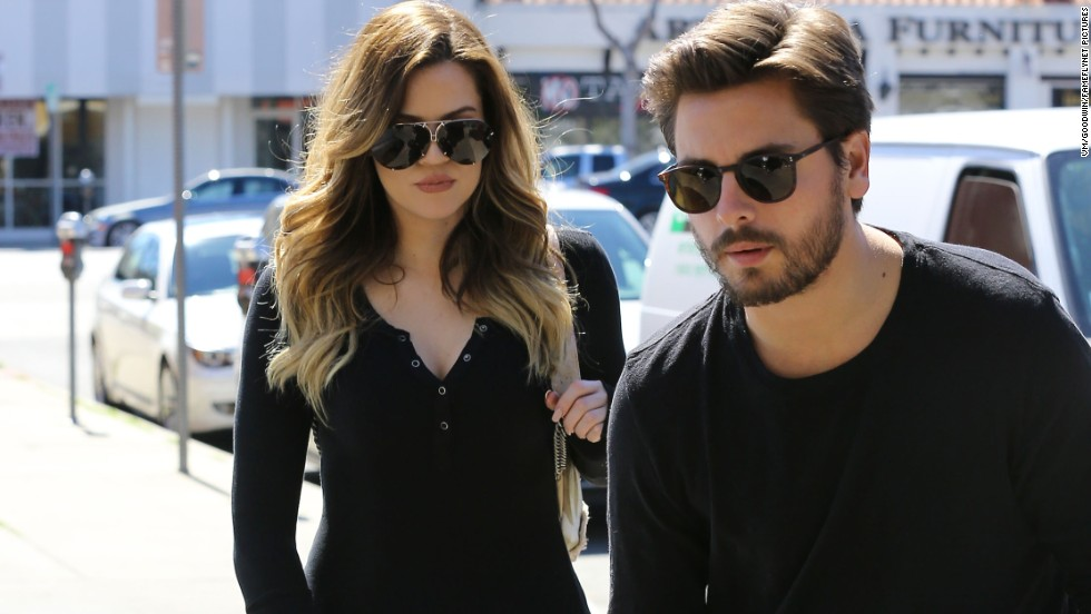 "Khloe Kardashian, Scott Disick, and Mason Disick film scenes for ""Keeping Up With The Kardashians""  in Sherman Oaks, California on March 10."