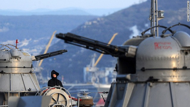Naval standoff on the Black Sea