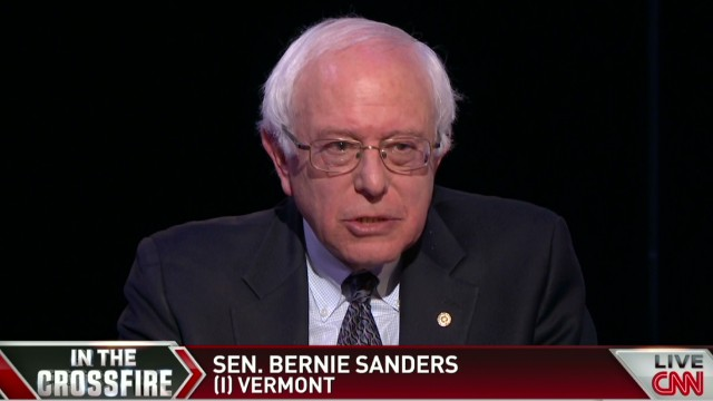 Sanders on Hillary Clinton 2016