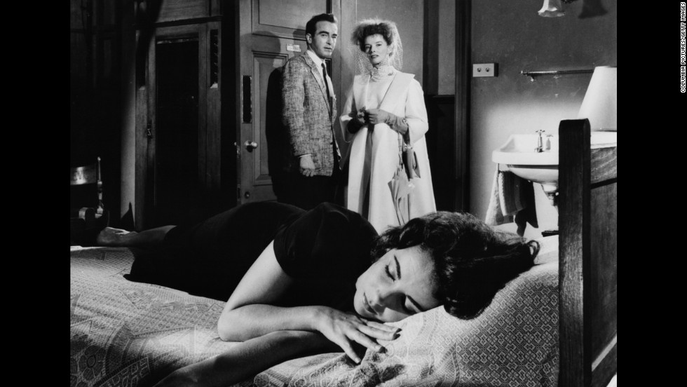 "Elizabeth Taylor, front, and Montgomery Clift and Katharine Hepburn starred in ""Suddenly, Last Summer,"" in 1959."