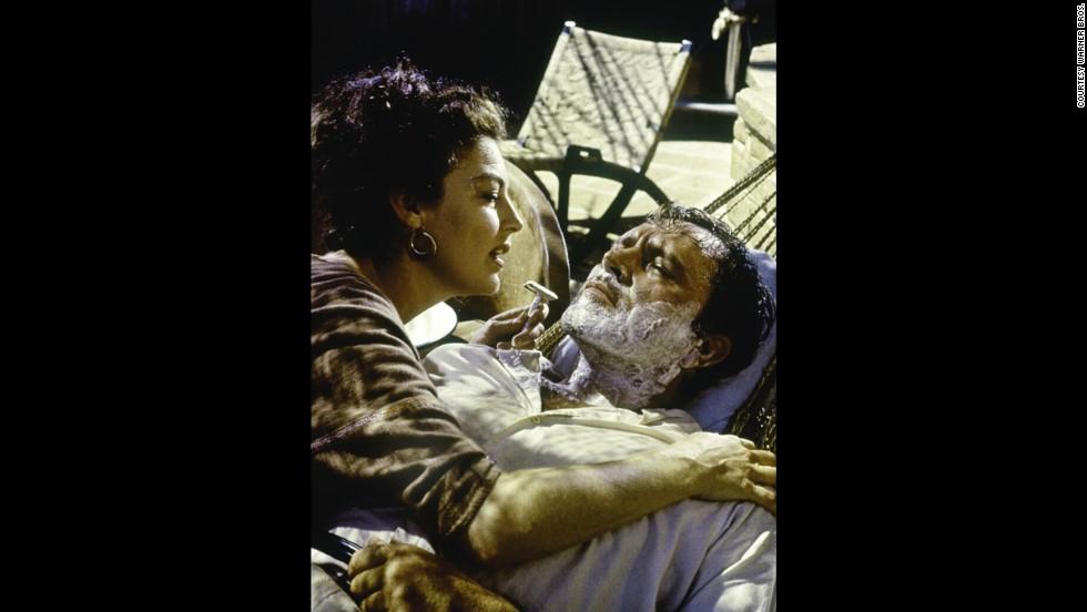 "Ava Gardner and Richard Burton starred in ""The Night of the Iguana"" in 1964."