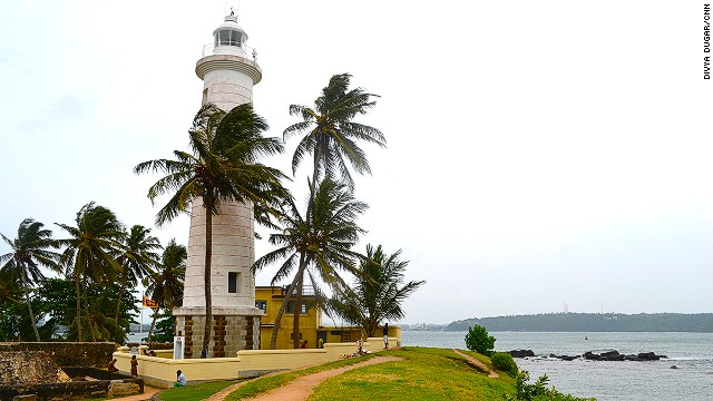 One of the oldest lighthouses in Sri Lanka can be found at the Galle Fort, a UNESCO World Heritage Site.