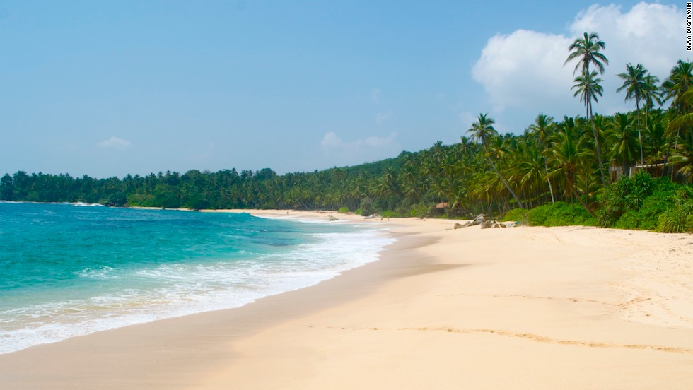The boundless blue sea at Tangalle, Sri Lanka -- still to be visited by mass tourism, it's a rare piece of paradise.