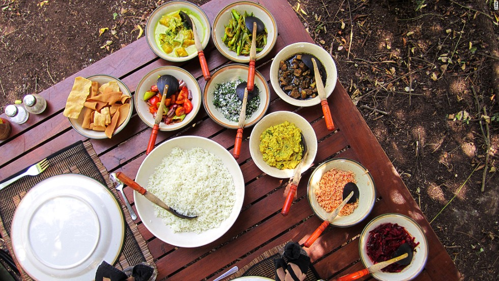 "A feast of color, a Sri Lankan curry dinner has ""endless options,"" says chef Sumit Batra, and is often only limited by the size of the table."