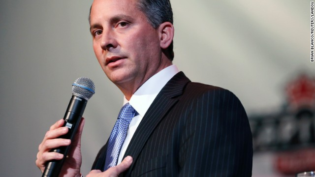 Republican David Jolly speaks during a candidate forum in Clearwater, Florida, on February 25.