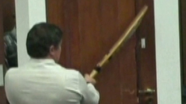 Pistorius: Cricket bat shown in court