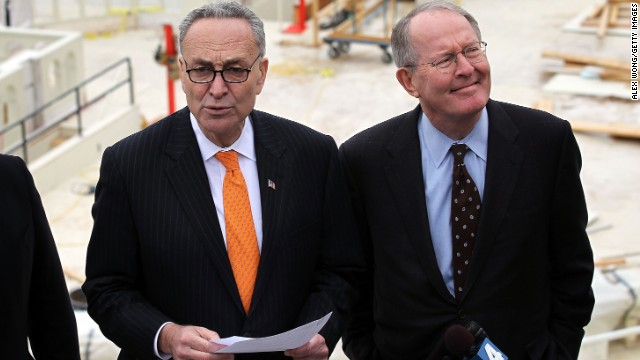 Democratic Sen. Charles Schumer, left, and Republican Lamar Alexander have privately worked together trying to figure out how to lower the political temperature and restore some of the important traditions of the Senate.