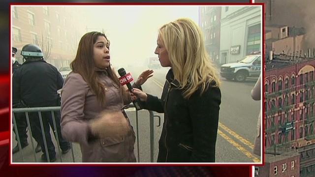 Witness: Big explosion woke me up