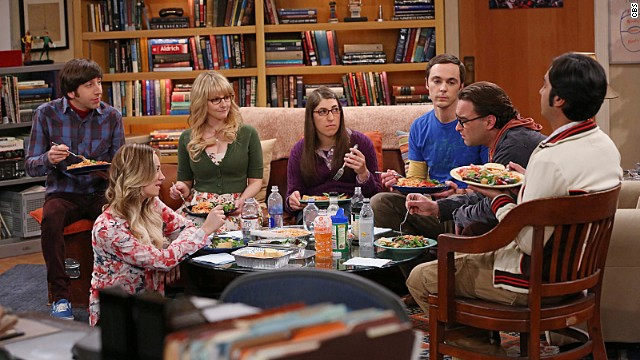 """The Big Bang Theory"" will continue on CBS through the 2016-17 TV season."