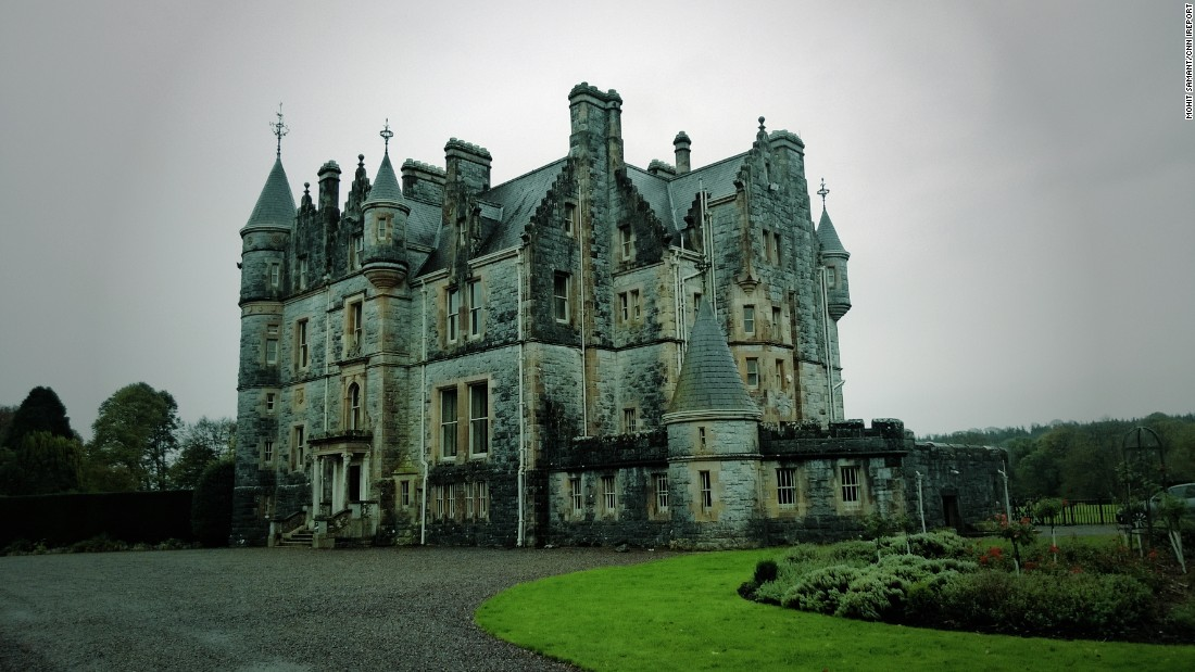 Blarney House, a Scottish baronial-style mansion, was built on the grounds of Blarney Castle in 1874. Located in County Cork, the mansion's namesake castle is home of the much-kissed Blarney Stone.