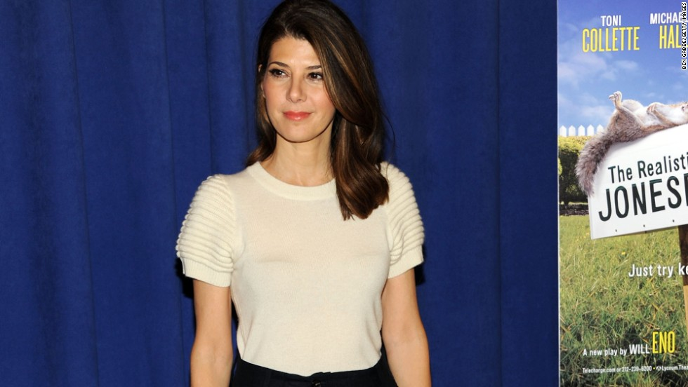 "Aunt May is not exactly a superhero -- but she's certainly super in the world of Peter Parker and ""Spider-Man."" According to The Hollywood Reporter, Marisa Tomei may play the important role of Parker's adoptive mother in the new ""Spider-Man"" film."