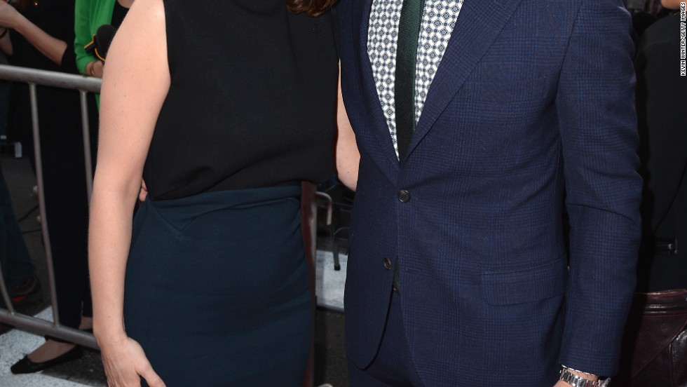 "Tina Fey and Ty Burrell are nearly #twinsies at the premiere of their new movie ""The Muppets"" on March 12."