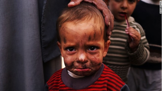 Fears of vengeance for Syria's children
