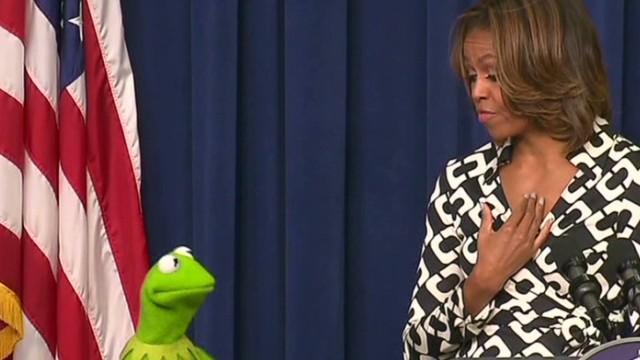 Kermit prefers Michelle Obama to ...