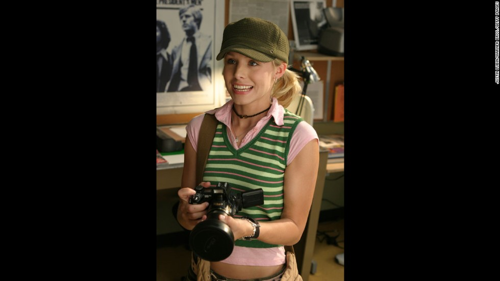 """Bell had racked up a number of TV and film appearances by the time she signed up to play the tough, smart teen PI on """"Veronica Mars."""" But it was that role in Rob Thomas' darkly funny series that won her a devoted -- and we mean staunchly so -- fan base. When it comes to Bell, """"Veronica Mars"""" fans are nothing but marshmallows."""