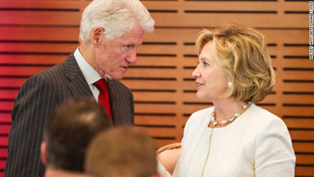 Inside Politics: Clinton & Clinton