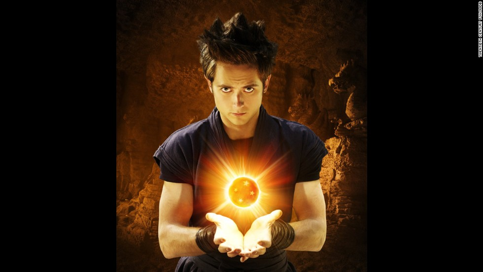"Canadian actor Justin Chatwin starred as Goku in ""Dragonball: Evolution"" in 2009."