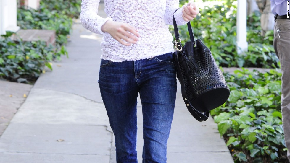 A bespectacled Emma Roberts heads for lunch in West Hollywood on March 13.