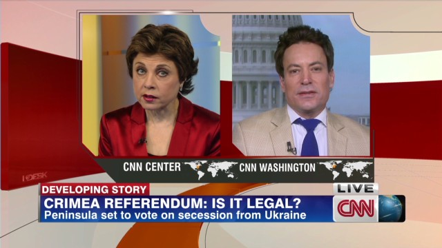 Legality of Crimea Referendum