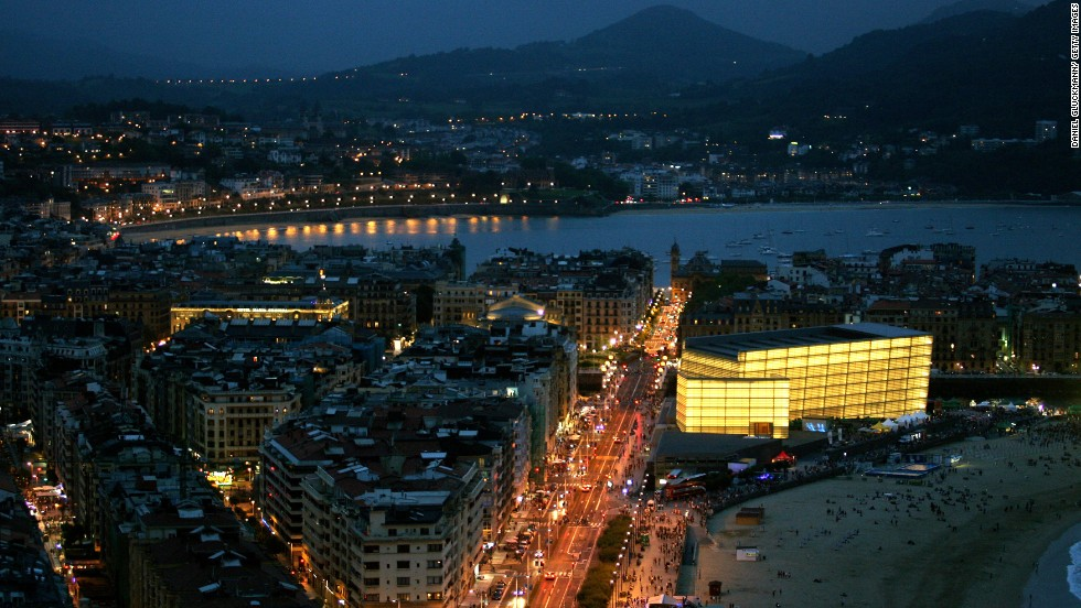 In the Spanish city of San Sebastian, just 20 kilometers south of the border, France's contribution can be seen in the city's neat urban layout and Belle Epoque architecture.