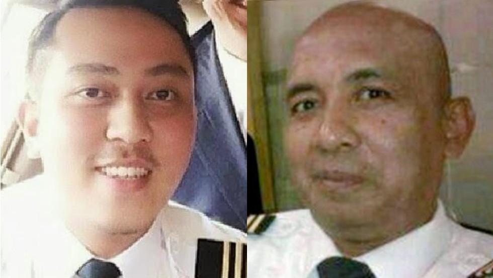 Los pilotos del vuelo 370 de Malaysia Airlines: Gambar Fariq Abdul Hamid, izquierda, y el capitán Zaharie Ahmad Shah a la derecha.