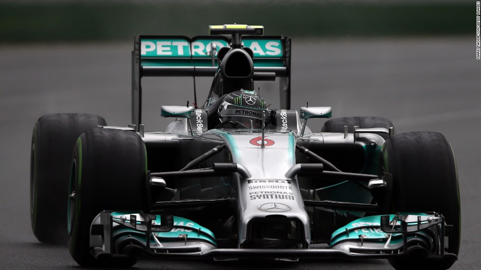 Rosberg drove a faultless race to claim the opening grand prix of the F1 season in Australia by over 20 seconds.