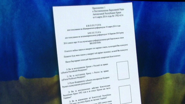 Crimea referendum explainer