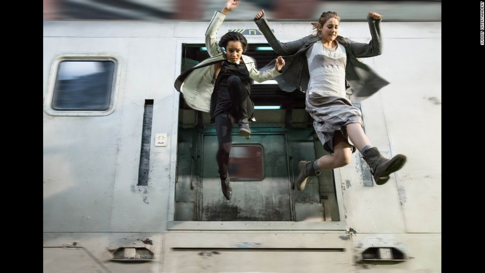 Unlike Caleb, Tris chooses the Dauntless faction, which is all about bravery and cultivating a spirit of fearlessness. In order to make it in this faction, you have to be OK with stunts of daring like leaping on and off trains, handling weapons and engaging in merciless combat.