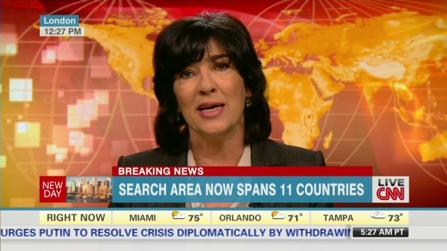 Amanpour: 'Greatest aviation drama'