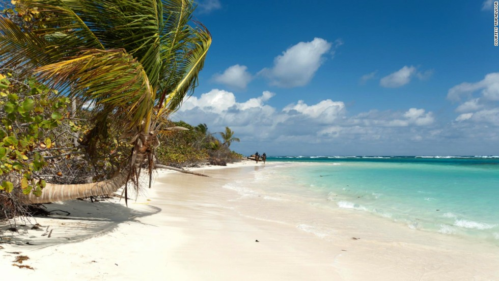 Flamenco Beach in Culebra, Puerto Rico, jumped two spots from No. 5 to No. 3.