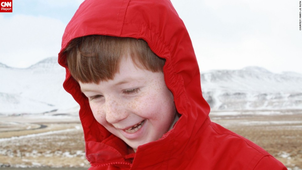 "<a href=""http://ireport.cnn.com/docs/DOC-1097852 "">Mary-jo Roth</a> says her family went to Iceland for the adventure. ""To make the trip special we made sure the kids were active participants."" John, then age 6, got to choose some of their activities, including hiking a volcano."