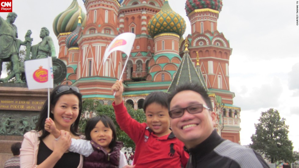 "Isabella was 3 and Alexander was 5 when <a href=""http://ireport.cnn.com/docs/DOC-1095958"">Thomas Yu</a> and his wife took their kids to Moscow. ""The unfortunate reality is that for people that do not currently have kids, they will not understand and feel agitated when for example, kids cry on the plane. Of course, proper planning will help reduce the discomfort of those around you but will not fully eliminate it."""