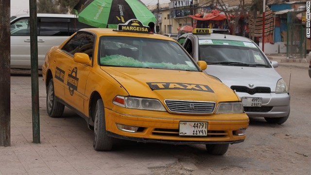 "Hargeisa Taxi wants to bring a little ""yellow cab"" color to Somaliland."