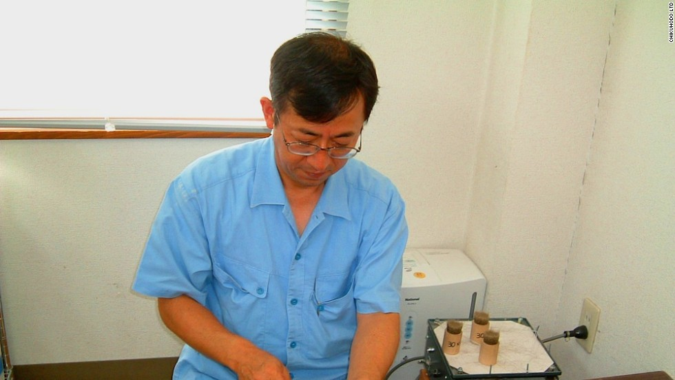 """Even today, Kumano brushes are all handmade,"" says Shin Takemori, president of Chikuhodo Ltd., one of 80 family run brush-making companies located in Kumano."