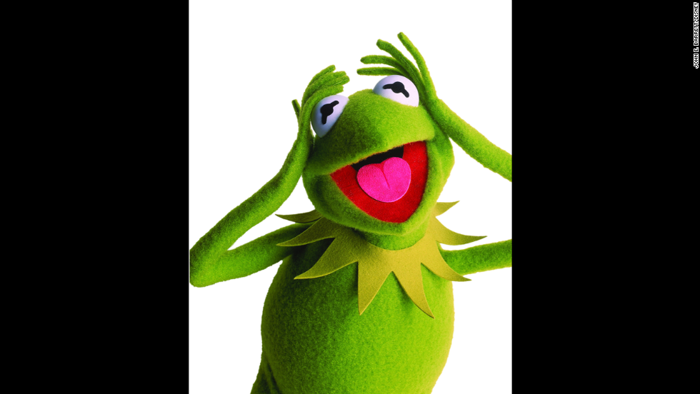 Kermit the Frog! It ain't easy being green, but Kermit at least makes it lovable.