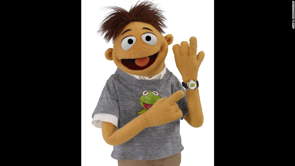 Walter, the newest Muppet who was added to the crew in 2011.