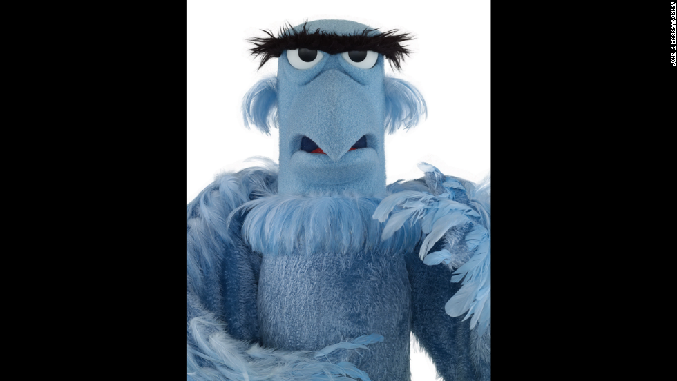 Sam the Eagle. While the antics of the other Muppets often ruffle his feathers, we wouldn't have him any other way.