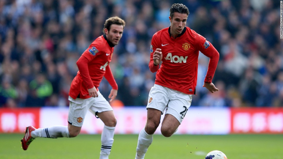 United signed Spain playmaker Juan Mata from Chelsea for $61 million in January to help bolster Moyes' attacking options. Mata, pictured left with Robin van Persie, has struggled to find any success so far, while Wayne Rooney has also failed to reach his potential.